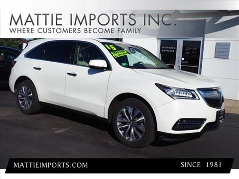 2015 Acura MDX for sale in Fall River, MA