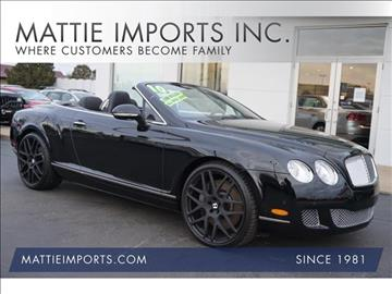 2010 Bentley Continental GTC for sale in Fall River, MA