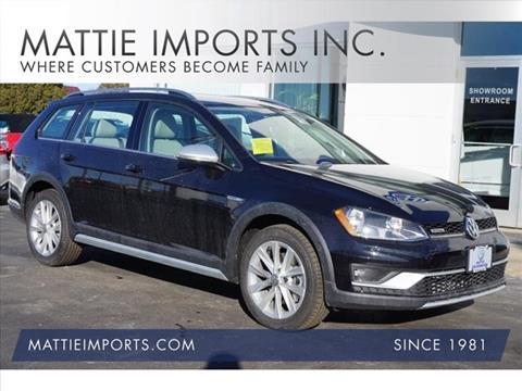 2017 Volkswagen Golf Alltrack for sale in Fall River, MA
