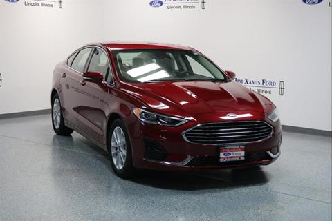 2019 Ford Fusion Hybrid for sale in Lincoln, IL