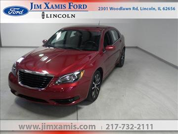 2012 Chrysler 200 for sale in Lincoln, IL