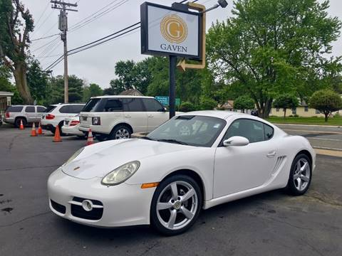 2008 Porsche Cayman for sale at Gaven Auto Group in Kenvil NJ
