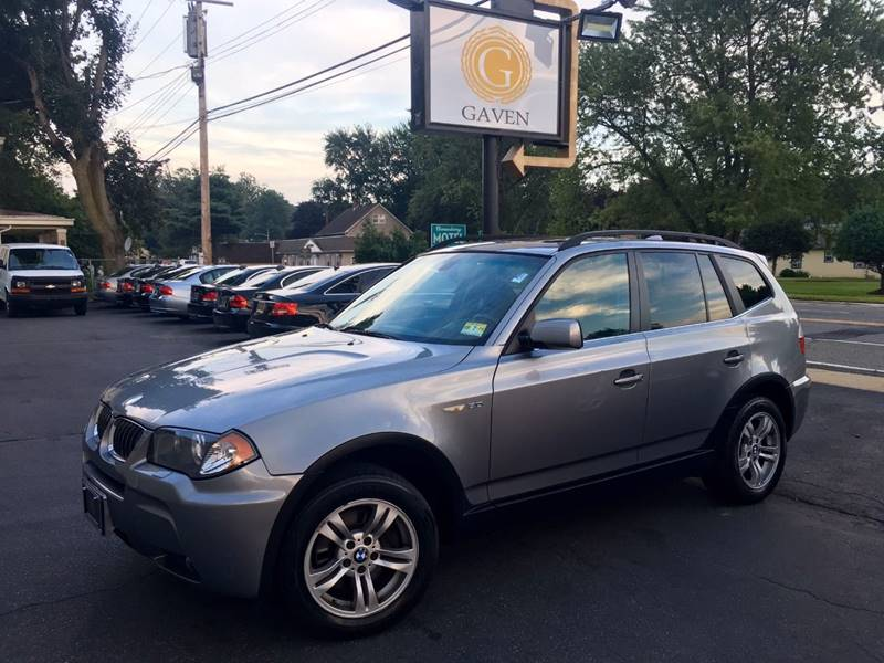 2006 BMW X3 for sale at Gaven Auto Group in Kenvil NJ