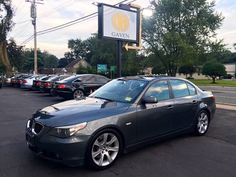 2006 BMW 5 Series for sale at Gaven Auto Group in Kenvil NJ