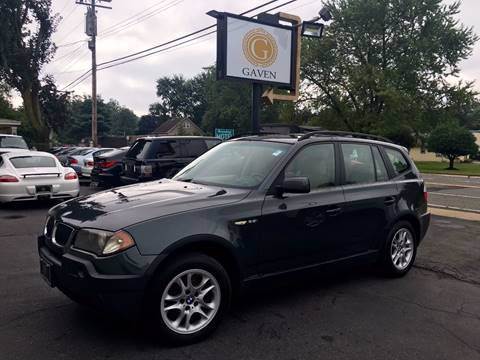 2005 BMW X3 for sale at Gaven Auto Group in Kenvil NJ