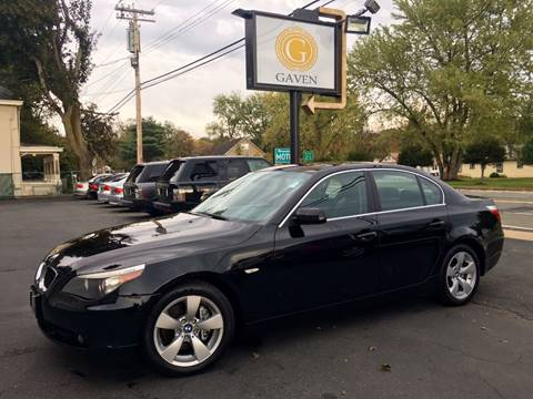 2007 BMW 5 Series for sale at Gaven Auto Group in Kenvil NJ