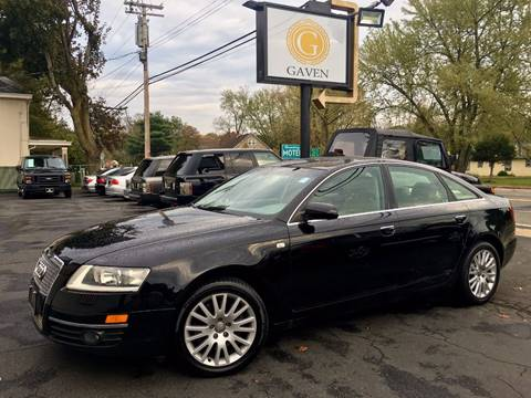 2006 Audi A6 for sale at Gaven Auto Group in Kenvil NJ