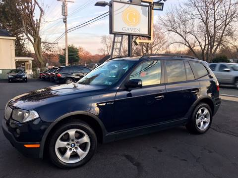 2008 BMW X3 for sale at Gaven Auto Group in Kenvil NJ