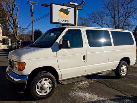 2006 Ford E-Series Wagon for sale at Gaven Auto Group in Kenvil NJ