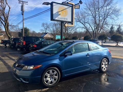 2008 Honda Civic for sale at Gaven Auto Group in Kenvil NJ