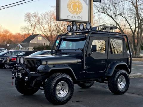 1995 Jeep Wrangler for sale at Gaven Auto Group in Kenvil NJ