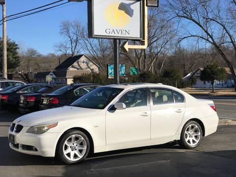 2004 BMW 5 Series for sale at Gaven Auto Group in Kenvil NJ