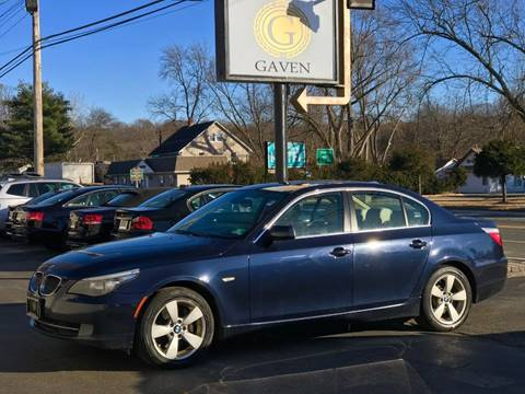 2008 BMW 5 Series for sale at Gaven Auto Group in Kenvil NJ
