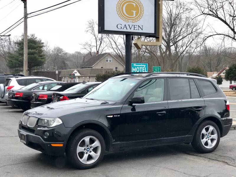 2007 BMW X3 for sale at Gaven Auto Group in Kenvil NJ