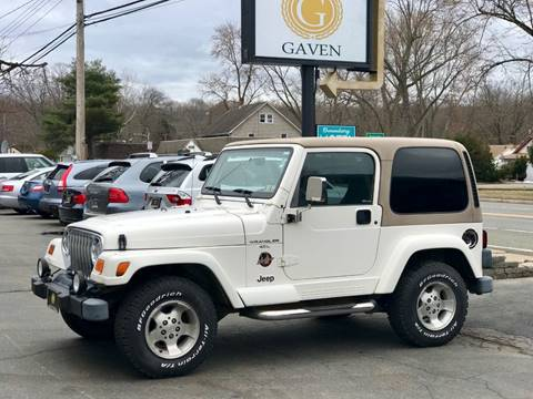 1999 Jeep Wrangler for sale at Gaven Auto Group in Kenvil NJ