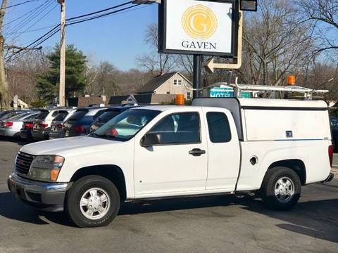 2007 GMC Canyon for sale at Gaven Auto Group in Kenvil NJ