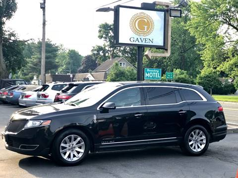 2014 Lincoln MKT Town Car for sale at Gaven Auto Group in Kenvil NJ