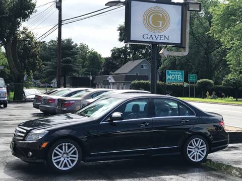 2008 Mercedes-Benz C-Class for sale at Gaven Auto Group in Kenvil NJ
