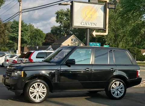 2012 Land Rover Range Rover for sale at Gaven Auto Group in Kenvil NJ