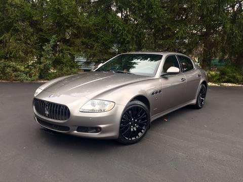 2009 Maserati Quattroporte for sale at Gaven Auto Group in Kenvil NJ