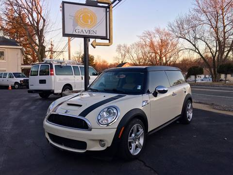 2009 MINI Cooper Clubman for sale at Gaven Auto Group in Kenvil NJ