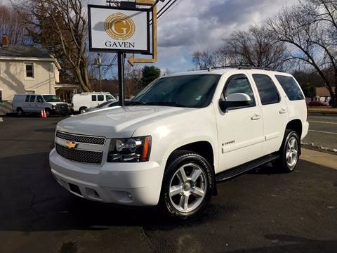 2007 Chevrolet Tahoe for sale at Gaven Auto Group in Kenvil NJ