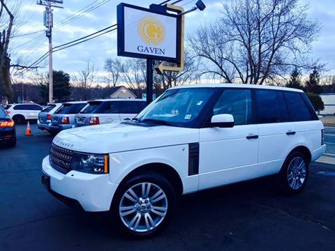 2011 Land Rover Range Rover for sale at Gaven Auto Group in Kenvil NJ