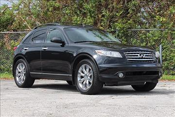 2004 Infiniti FX45 for sale in Hollywood, FL