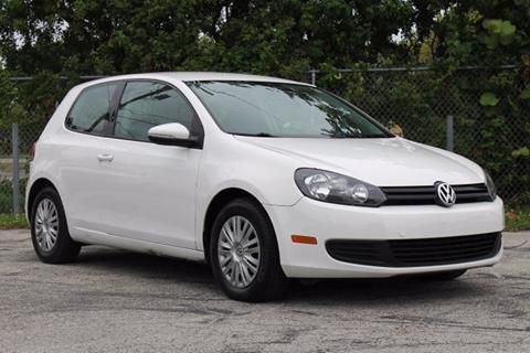 2010 Volkswagen Golf for sale in Hollywood, FL