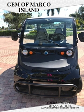 2019 GEM E4 for sale in Marco Island, FL