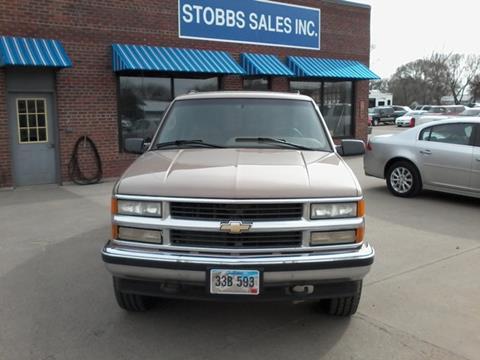 1995 Chevrolet Tahoe for sale in Miller, SD