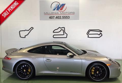 2013 Porsche 911 for sale in Longwood, FL