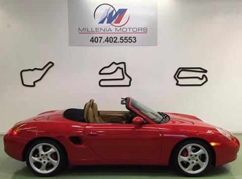 2001 Porsche Boxster for sale in Longwood, FL