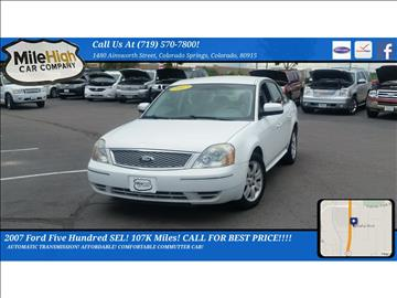 2007 Ford Five Hundred for sale in Colorado Springs, CO