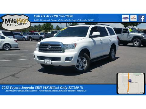 2013 Toyota Sequoia for sale in Colorado Springs, CO
