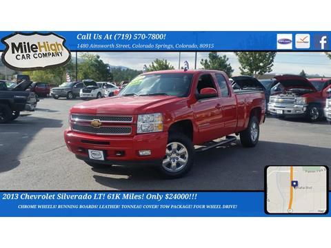 2013 Chevrolet Silverado 1500 for sale in Colorado Springs, CO