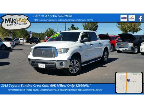 2013 Toyota Tundra for sale in Colorado Springs, CO