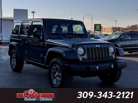 2017 Jeep Wrangler Unlimited for sale in Galesburg, IL
