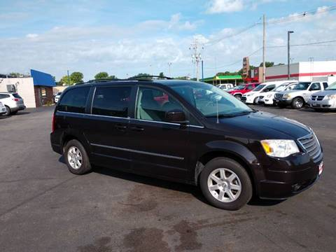 2010 Chrysler Town and Country for sale at CITY SELECT MOTORS in Galesburg IL