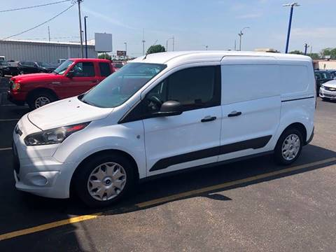 2015 Ford Transit Connect Cargo for sale at CITY SELECT MOTORS in Galesburg IL
