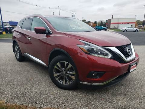 2018 Nissan Murano SL for sale at CITY SELECT MOTORS in Galesburg IL