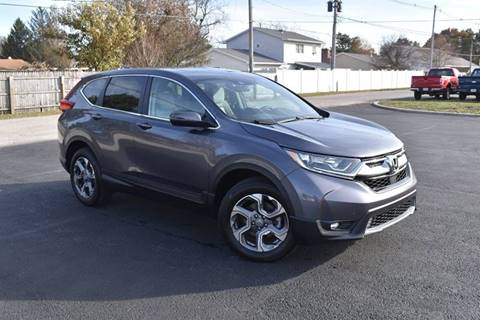 2019 Honda CR-V EX for sale at CITY SELECT MOTORS in Galesburg IL