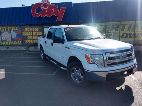 2013 Ford F-150 for sale at CITY SELECT MOTORS in Galesburg IL