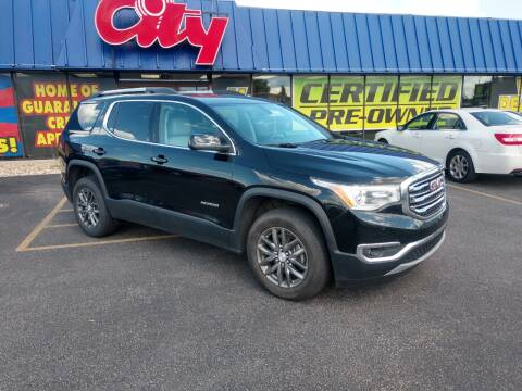 2019 GMC Acadia for sale at CITY SELECT MOTORS in Galesburg IL