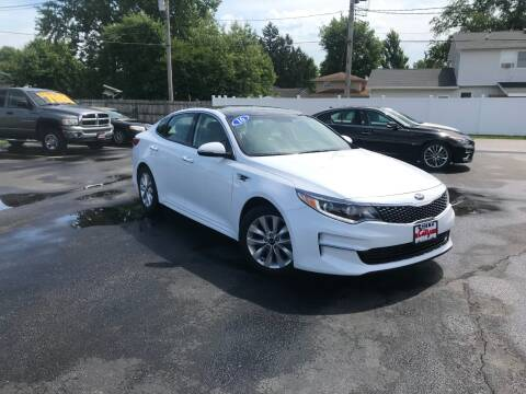 2016 Kia Optima for sale at CITY SELECT MOTORS in Galesburg IL