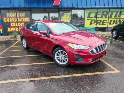 2019 Ford Fusion for sale at CITY SELECT MOTORS in Galesburg IL