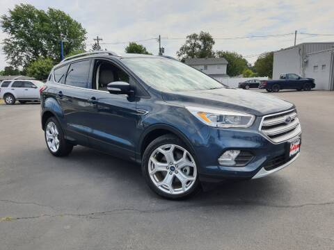 2019 Ford Escape for sale at CITY SELECT MOTORS in Galesburg IL