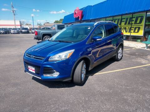2015 Ford Escape for sale at CITY SELECT MOTORS in Galesburg IL