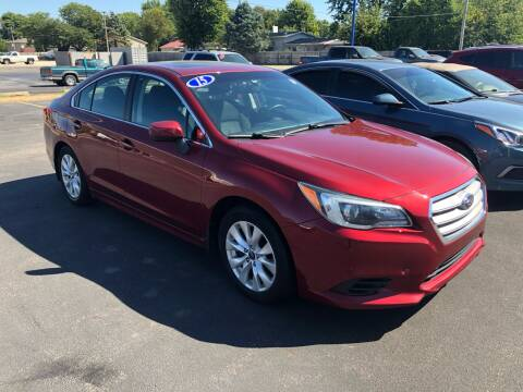 2015 Subaru Legacy for sale at CITY SELECT MOTORS in Galesburg IL