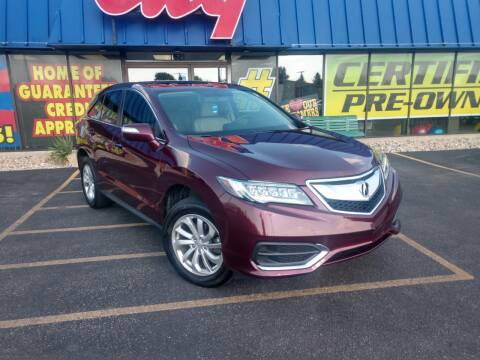2017 Acura RDX for sale at CITY SELECT MOTORS in Galesburg IL